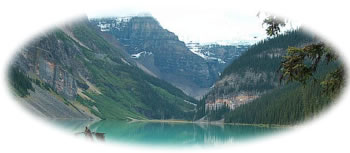Lake Louise Banff Nationalpark Alberta Kanada